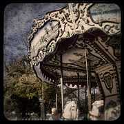 Merry Go Round Framed Prints - Abandoned Wonder Framed Print by Andrew Paranavitana