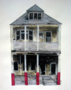 Pittsburgh Mixed Media Originals - Abandoned XIII by Seth Clark