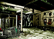 Rap Acrylic Prints - Abandoned Acrylic Print by Yurix Sardinelly