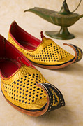 Oil Lamp Prints - Abarian Shoes Print by Garry Gay