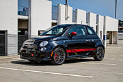 Fiat 500 Framed Prints - Abarth 1 Framed Print by J Pruett