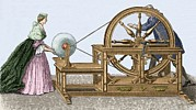 18th Century Photos - Abbe Nollets Electric Machine by Sheila Terry