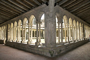 During Art - Abbey cloister. Saint-Emilion. Gironde. France by Bernard Jaubert