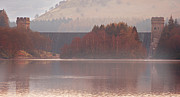 Derwent Reservoir Prints - Abbey Island Print by Nigel Hatton
