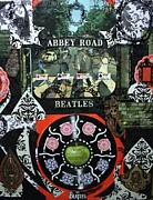 Lennon Mixed Media Originals - Abbey Road by Michael Kulick