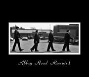 Abbey Road Prints - Abbey Road Re-visited Print by Rianna Stackhouse