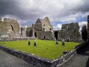 Monasticism Metal Prints - Abbeyknockmoy, Cistercian Abbey Of Metal Print by The Irish Image Collection
