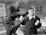 Wolfman Framed Prints - Abbott And Costello Framed Print by Granger