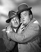 1950s Tv Prints - Abbott And Costello Show, The, Bud Print by Everett