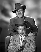 Costello Prints - Abbott & Costello In The Early 1950s Print by Everett