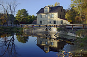 Nature Center Pond Photo Prints - Abbotts Mill Print by Brian Wallace