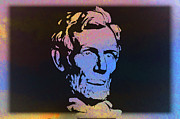 Abe Print by Bill Cannon
