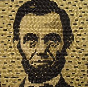 Abe Mixed Media - Abe Lincoln by Doug Powell
