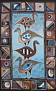Ethnic Metal Prints - Abidjan Metal Print by Johanna Virtanen