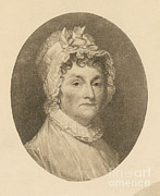 American First Lady Posters - Abigail Adams Poster by Photo Researchers