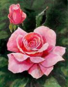 Abigail Rose Print by Edward Farber