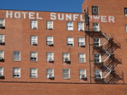 Lodging - Abilene Kansas - Hotel Sunflower by Frank Romeo