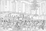 Abolition Movement Metal Prints - Abolition Cartoon, 1859 Metal Print by Granger