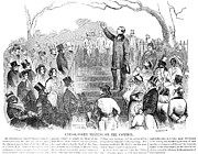 Abolition Movement Metal Prints - Abolition: Phillips, 1851 Metal Print by Granger