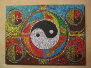 Aboriginal Dreams of Yin and Yang Painting by Marc Sevigny ...
