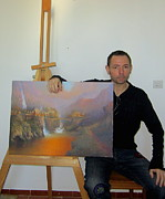 The Grey Havens Paintings - About me by Joe Gilronan