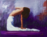 Athletic Painting Originals - Above and Beyond by Sandra Jones