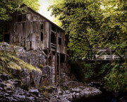 Grist Mill Paintings - Above Cedar Creek by Craig Shillam