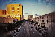 Copperleaf Hotel Prints - Above College Avenue Print by Shutter Happens Photography