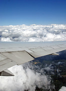 Wing Mirror Photos - Above the Clouds by Ausra Paulauskaite