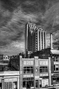 Richmond Virginia Prints - Above The Storefront Print by Tim Wilson