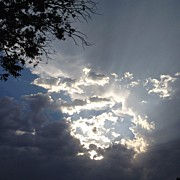 Storm Art - Above The Storm (no Filters) by Renee G