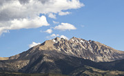 Snow-capped Peak Prints - Above the Tree Line - Nevada Print by Brendan Reals