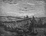 Shephard Prints - Abraham Entering Canaan Print by Granger