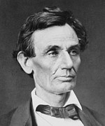 1860s Prints - Abraham Lincoln 1809-1865 Print by Everett
