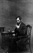 1800s Prints - Abraham Lincoln, 1809-1865, U.s Print by Everett