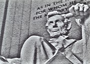 8mm Photos - Abraham Lincoln by Brenda Donko