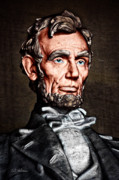 Abraham Lincoln Framed Prints - Abraham Lincoln Framed Print by Christopher Holmes