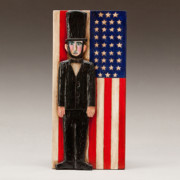 American Flag Reliefs - Abraham Lincoln by James Neill