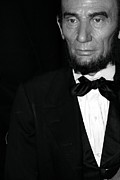 Statue Portrait Photo Prints - Abraham Lincoln Print by Sophie Vigneault