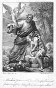 Trial Prints - Abraham Sacrificing Isaac Print by Granger