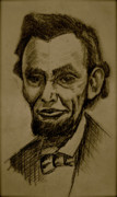 Honest Abe Drawings - Abrahams lincoln. by Katie Ransbottom