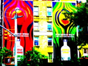 Urban Landscape Art Prints - Absolut Heaven in SOHOs NY Print by Funkpix Photo  Hunter