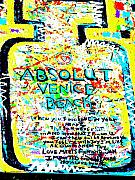 Venice Digital Art - Absolut Venice Beach by Funkpix Photo Hunter