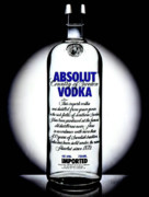Absolut Prints - Absolut Vodka Print by Luis Ludzska