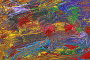 Mike Savad - Abstract - Acrylic - Anger Joy Stability