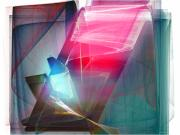 Large Digital Art - Abstract - Crystal Bar by Ganesh Barad