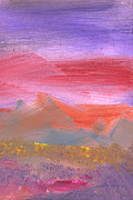 Mike Savad - Abstract - Guash - Lovely meadows 1 of 2