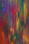 Complex Posters - Abstract - Tempera - Night Fall Poster by Mike Savad