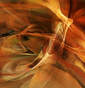 Decorative - Abstract 060812A by David Lane