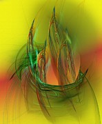 Arty Digital Art - abstract 061511A by David Lane